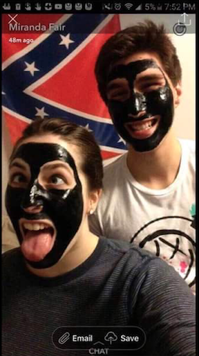 a-social-media-post-on-nov-10-showed-two-students-from-southern-illinois-university-wearing-blackface-and-standing-in-front-of-a-confederate-flag