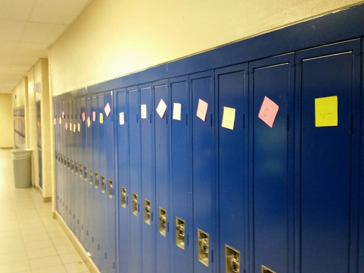 some-good-news-messages-of-love-support-were-left-on-every-locker-900-of-them-at-cherry-creek-high-school-in-metro-denver